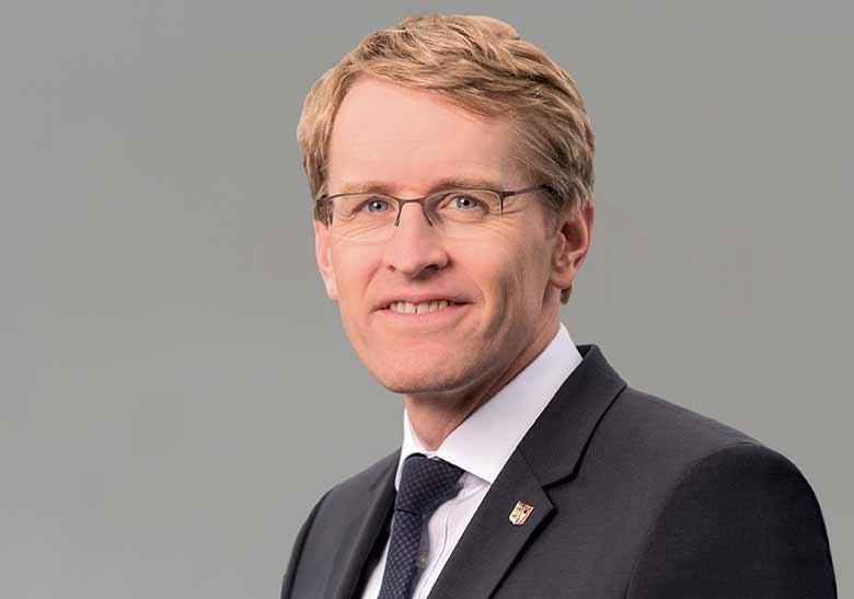Laufen un helfen Botschafter Daniel Günther