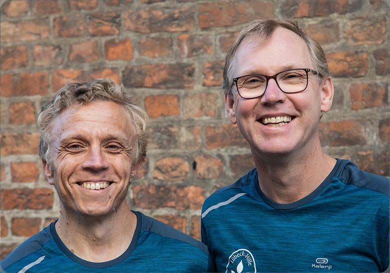 Laufen für die Kinderkrebshilfe Lübeck | Sascha Hensel & Kai Kinter