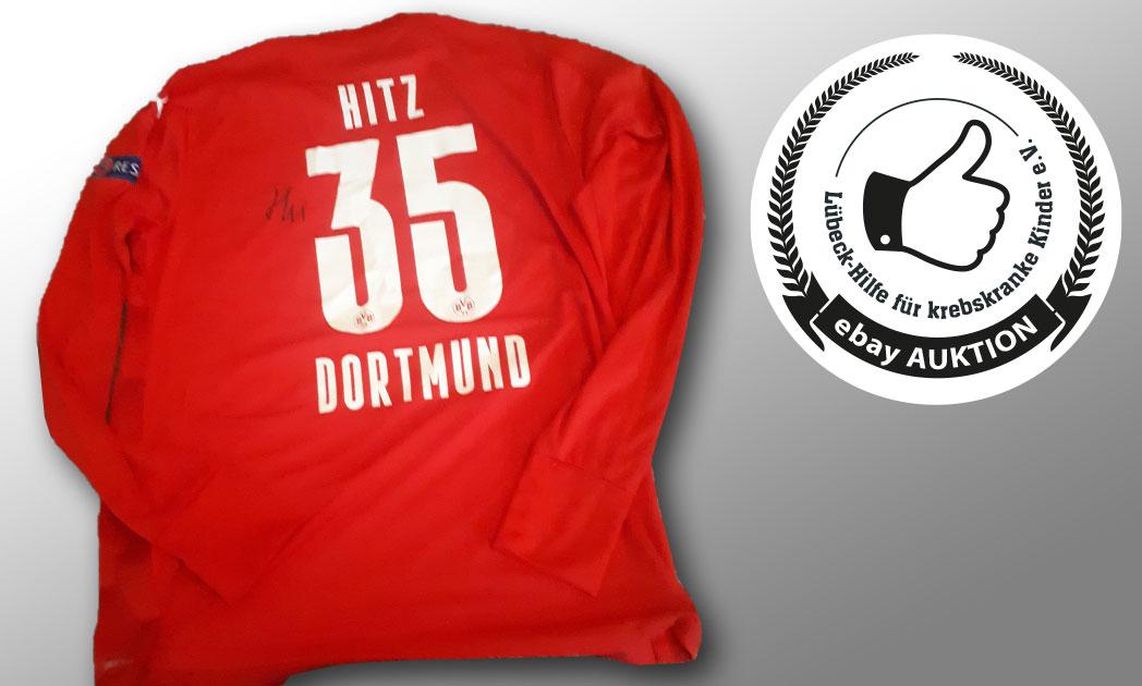 laufen und helfen Lübeck | Borussia Dortmund Trikot Torwart Marwin Hitz
